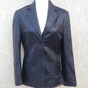Maxwell Spence London leather jacket